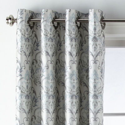 JCPenney Home Blaine Blackout Grommet-Top Curtain Panel