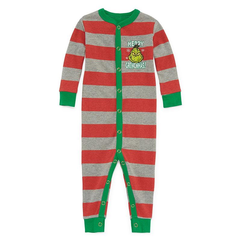 The Grinch 1 Piece Pajama -Baby Unisex, Size 9 Months