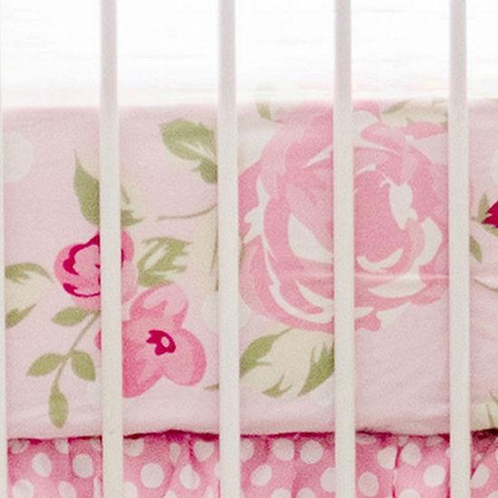 My Baby Sam Rosebud Lane Crib Sheet