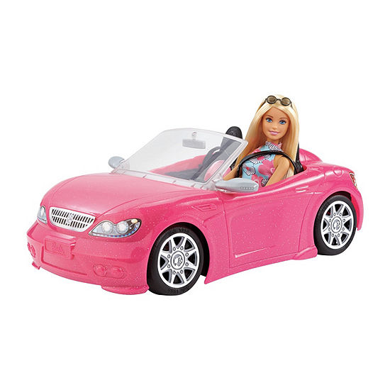 Barbie Doll With Convertible