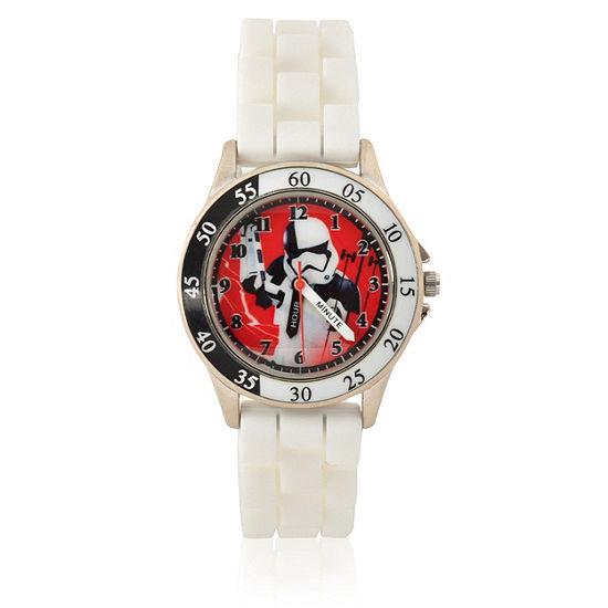 Star Wars Unisex White Strap Watch-Swj9002jc