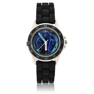 Unisex Black Strap Watch-Bpm9010jc