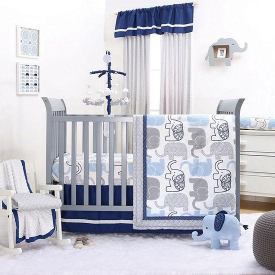 The Peanut Shell Little Peanut 3-pc. Crib Bedding Set