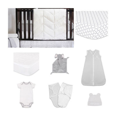 The Peanut Shell Taylor Crib Bedding Set