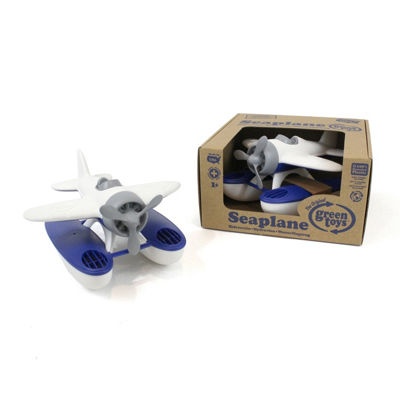 Green Toys Seaplane - White/Blue