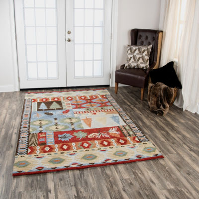 Rizzy Home Northwoods Collection Ackerley Hand-Tufted Area Rugs