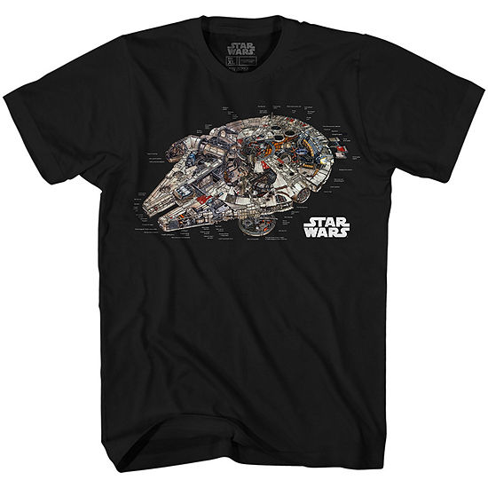 Star Wars Millennium Reveal Graphic Tee