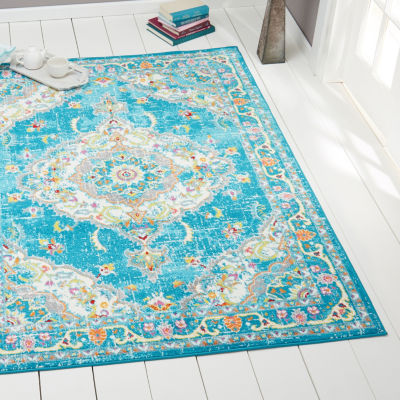 Home Dynamix Splash Andre Medallion Rectangular Area Rug