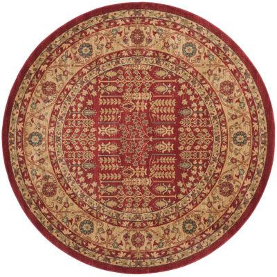 Safavieh Mahal Collection Juniper Oriental Round Area Rug