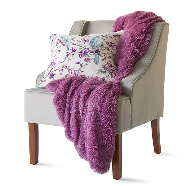 Home Expressions Shag Throw