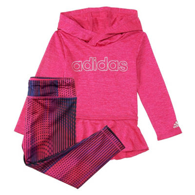 adidas 2-pc. Pant Set Girls