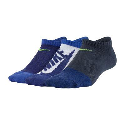 Nike Performance Lightweight No-Show 3 Pack Socks - Boys