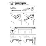Exclusive Home Curtains Jetson 1 IN Curtain Rod