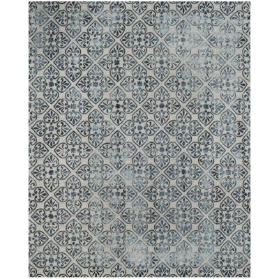 Safavieh Dip Dye Collection Jacinda Damask Area Rug