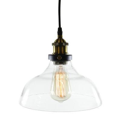 Warehouse Of Tiffany Esmie 1-light Adjustable Height Edison Lamp with Bulb