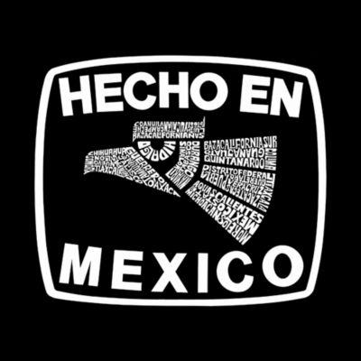 Los Angeles Pop Art Women's Raglan Word Art T-shirt - HECHO EN MEXICO
