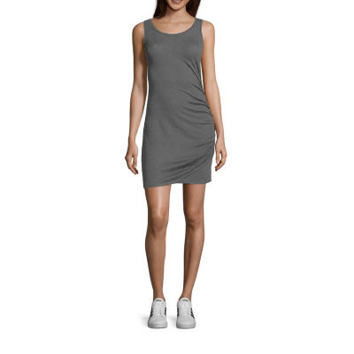 Fire Sleeveless Bodycon Dress-Juniors