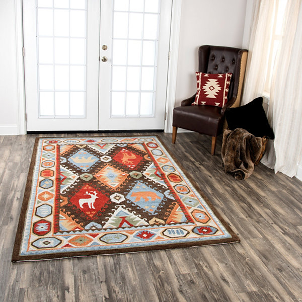 Rizzy Home Northwoods Collection Adamson Hand-Tufted Area Rugs