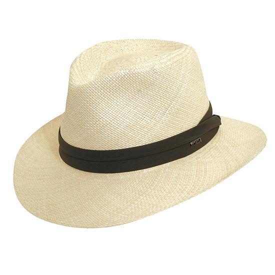 Scala Mens Panama Hat