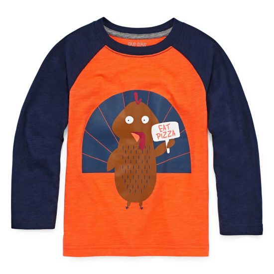 Okie Dokie Thanksgiving T-Shirt-Toddler Boys