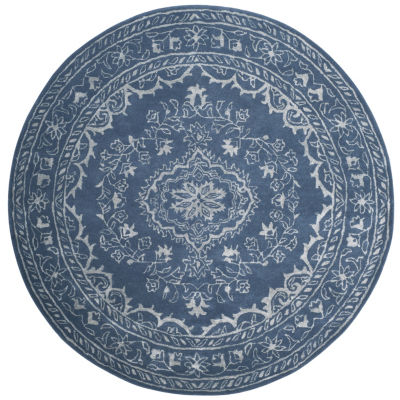 Safavieh Glamour Collection Dustin Oriental RoundArea Rug
