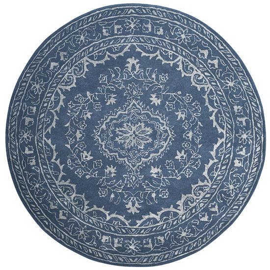 Safavieh Glamour Collection Dustin Oriental Round Area Rug