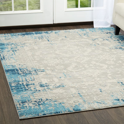Home Dynamix Palmyra Piet Distressed Rectangular Rug