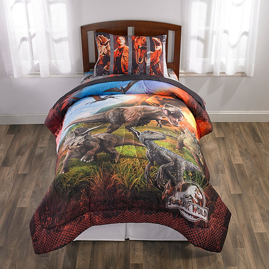 Universal Jurassic World Reversible Comforter Set