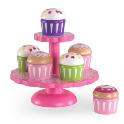 KidKraft Cupcake Stand with Cupcakes