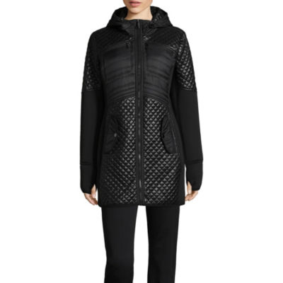 Liz Claiborne Quilted Lightweight Quilted Jacket