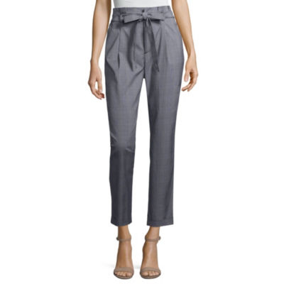 Almost Famous Womens High Waisted Slim Pull-On Pants-Juniors