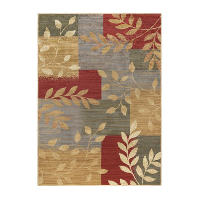 Tayse Ditton Transitional Abstract Area Rug