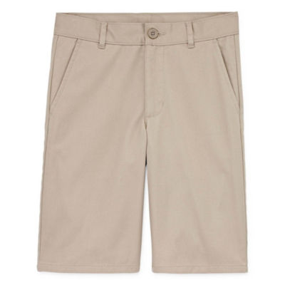 Izod Boys 4-20 Flat Front Chino Shorts