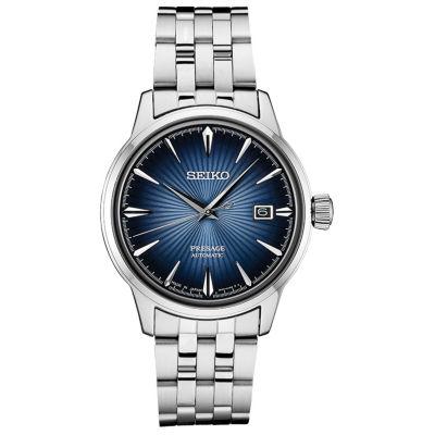 Seiko Mens Silver Tone Strap Watch-Srpb41