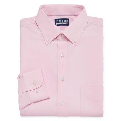 Stafford Long Sleeve Woven Dress Shirt