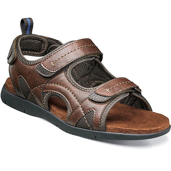 Nunn Bush Rio Grande Men's River Open Toe Three Strap Sandals