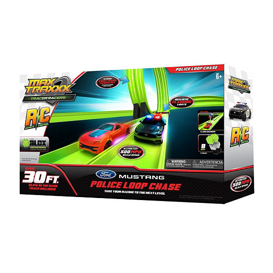 Max Traxxx Tracer Racers Rc Police Loop Chase