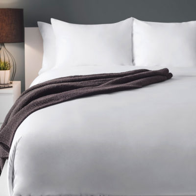 Sobel Cale Woven Queen XL Flat Sheet 24-pc.