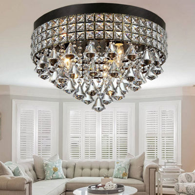 Warehouse Of Tiffany Melly 3-light Antique 16-inch Crystal Chandelier