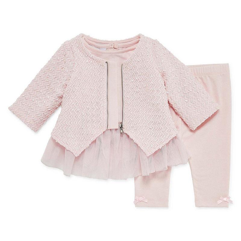 Marmellata Dot|Stripe Legging Set 3-pc – Baby Girls