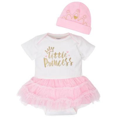 Gerber 2-pc. Bodysuit Set-Baby Girls