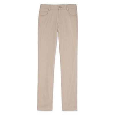 Izod Stretch 5 Pocket Skinny Pant-Boys 8-20