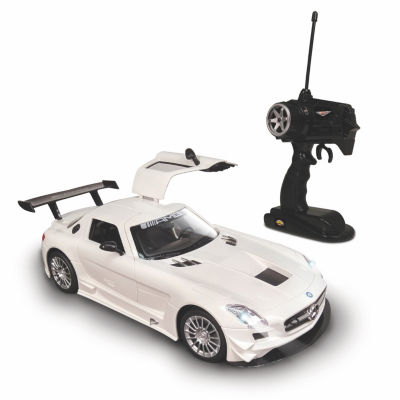 Nkok Luxe 1:15 Radio Controlled Mercedes-Benz SlsAmg Gt3 (Rc) - Colors Vary (Grey/White)