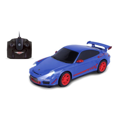 Nkok Luxe 1:24 Scale Radio Controlled Porsche 911Gt3 Rs (Rc) - Colors Vary (Blue/Grey)