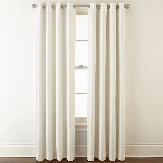 JCPenney Home Blackout Grommet-Top Single Curtain Panel