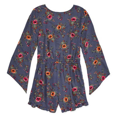 Arizona Long Sleeve Romper-Juniors Plus