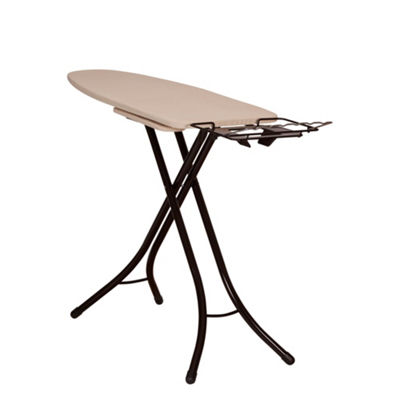 Household Essentials Bronze Mega Wide Top Ironing Board Pressing Station