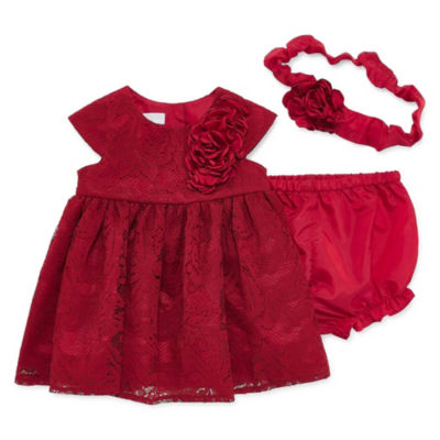 Marmellata Ballernia Short Sleeve A-Line Dress - Baby Girls