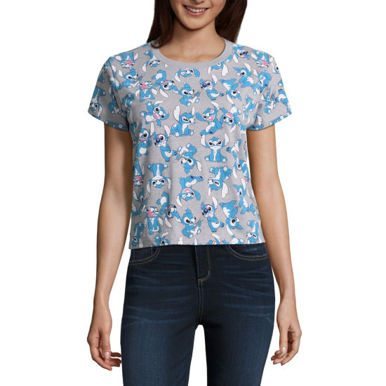Stitch Cropped Tee - Juniors