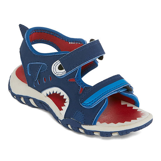 Okie Dokie Little Kid Big Kid Boys Coast Jr Strap Sandals